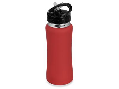Спортивная бутылка на 600 мл, красный, арт. 001515603