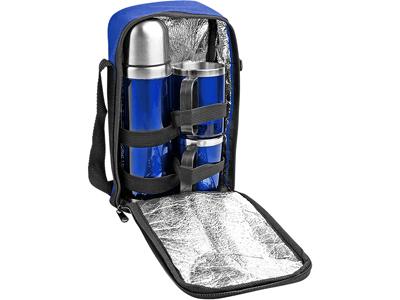 Набор: термос на 500 мл, 2 кружки на 220 мл в дорожной сумке с термоизоляцией