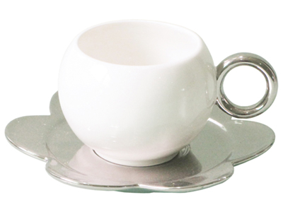 Чайная пара: чашка на 220 мл с блюдцем, арт. 000674903