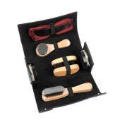 Набор аксессуаров для чистки обуви в футляре, 8 предметов, арт. 000520903