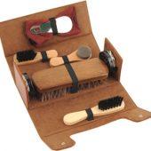 Набор аксессуаров для чистки обуви в футляре, 8 предметов, арт. 000538103