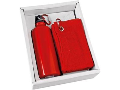 Набор: фляжка на 500 мл и полотенце, арт. 000008303