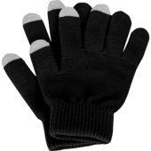 Перчатки для сенсорного экрана, черный, размер S/M ( S/M )