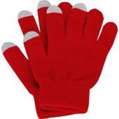 Перчатки для сенсорного экрана, красный, размер S/M ( S/M ), арт. 001273703