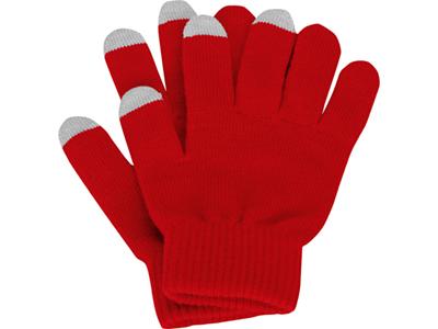 Перчатки для сенсорного экрана, красный, размер S/M ( S/M )