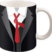 Набор: чашка и галстук «Утро джентльмена»