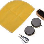 Набор аксессуаров для чистки обуви в футляре, 5 предметов, арт. 001283303