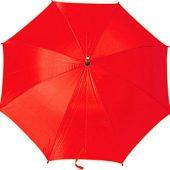 Зонт-трость полуавтоматический с деревянной ручкой, арт. 000075503