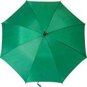 Зонт-трость полуавтоматический с деревянной ручкой, арт. 000075903