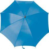 Зонт-трость полуавтоматический с деревянной ручкой, арт. 000076403