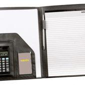 Папка для документов с блокнотом и калькулятором, арт. 000234503