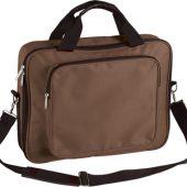 Сумка для ноутбука, коричневая, арт. 001284503