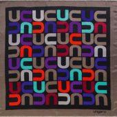 Платок шелковый Ungaro модель «Monogramma», арт. 001257503