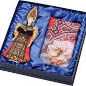 Набор: кукла в народном костюме, платок Катерина»