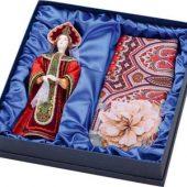 Набор: кукла в народном костюме, платок «Евдокия»