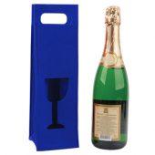 Декоративный чехол для бутылки, синий, арт. 000558703