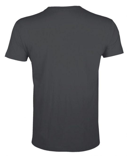 Футболка мужская приталенная REGENT FIT 150 темно-серая, размер L