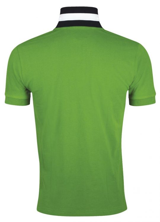 Рубашка поло мужская PATRIOT 200, зеленая, размер M