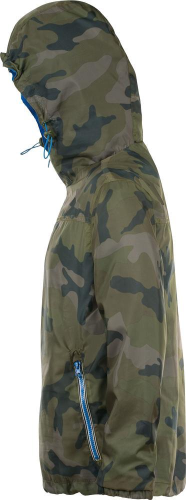 Ветровка SKATE камуфляж с синим, размер M