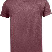 Футболка мужская MIXED MEN бордовый меланж, размер XXL