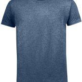 Футболка мужская MIXED MEN темно-синий меланж, размер L