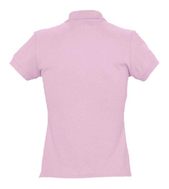 Рубашка поло женская PASSION 170 розовая, размер L