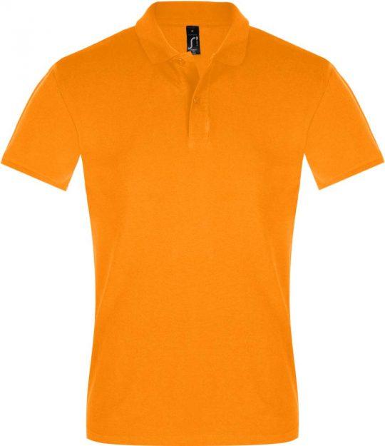 Рубашка поло мужская PERFECT MEN 180 оранжевая, размер 3XL