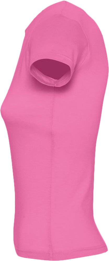 Футболка женская MISS 150 розовая, размер S
