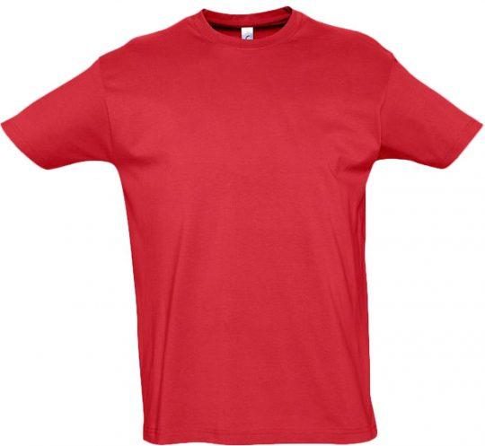 Футболка IMPERIAL 190 красная, размер 3XL