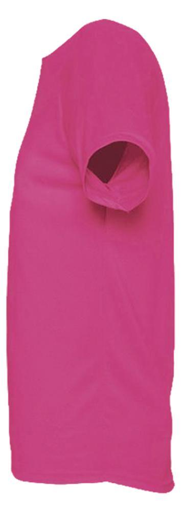 Футболка унисекс SPORTY 140 розовый неон, размер 3XL