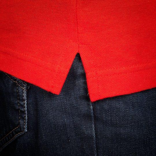 Рубашка поло Virma Stripes, красная, размер M