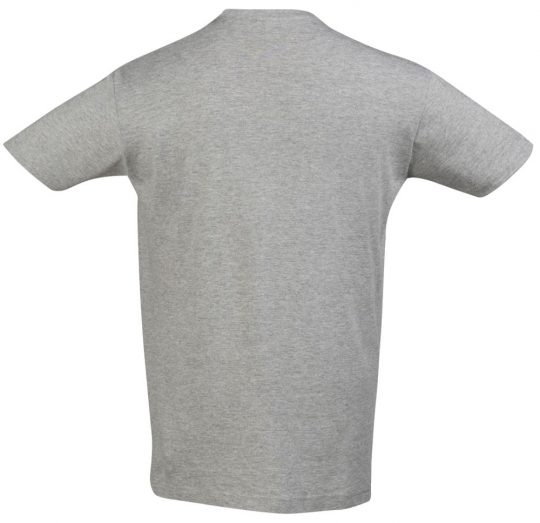 Футболка REGENT 150 серый меланж, размер L