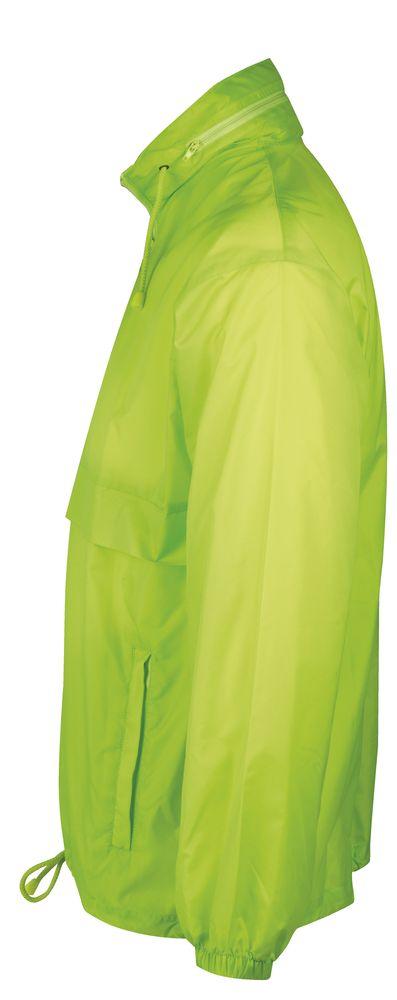 Ветровка из нейлона SURF 210, зеленое яблоко, размер L