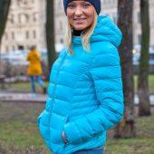 Куртка пуховая женская Tarner Lady серая, размер L