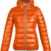 Куртка пуховая женская Tarner Lady оранжевая, размер XXL