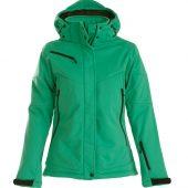 Куртка софтшелл женская Skeleton Lady зеленая, размер XL