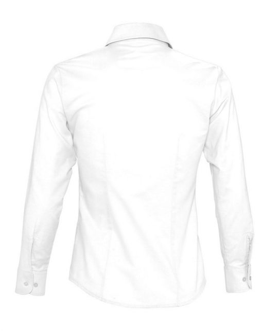 Рубашка женская с длинным рукавом EMBASSY белая, размер M