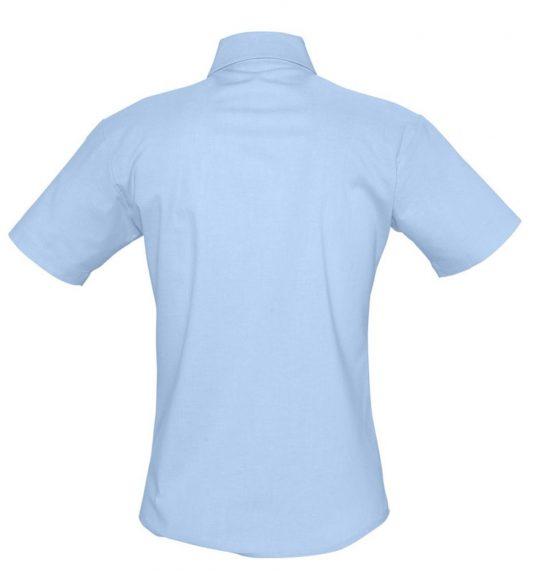 Рубашка женская с коротким рукавом ELITE голубая, размер XL