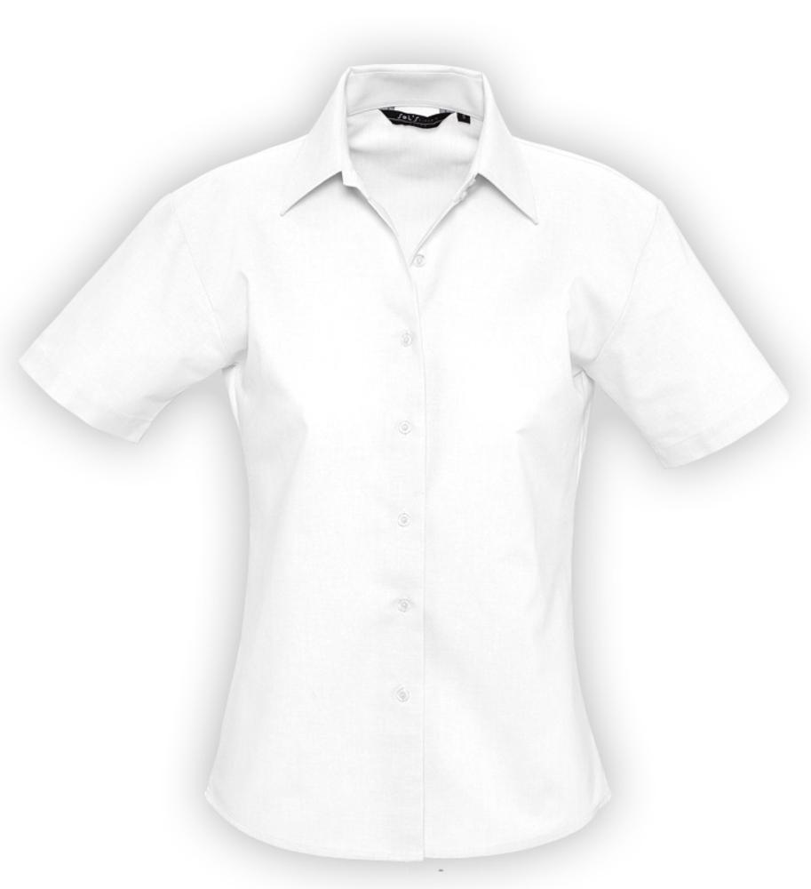 19b3fa9eb31 Рубашка женская с коротким рукавом ELITE белая