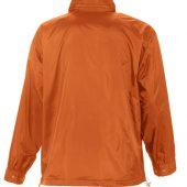 Ветровка мужская MISTRAL 210 оранжевая, размер XL