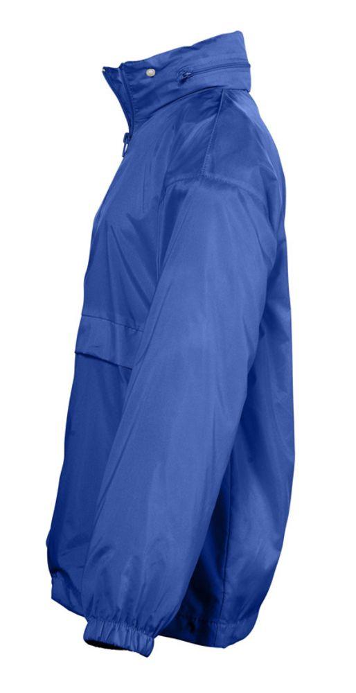 Ветровка детская Surf Kids, ярко-синяя, на рост 105-116 см (5-6 лет)