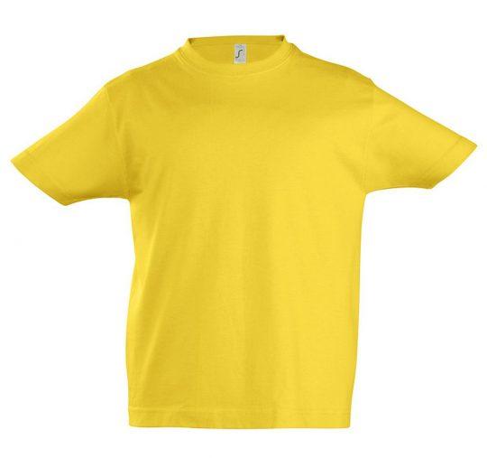 Футболка детская Imperial Kids 190 желтая, на рост 142-152 см (12 лет)