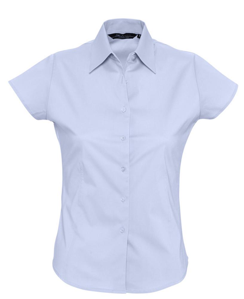 7db28a0f2d5 Рубашка женская с коротким рукавом EXCESS голубая