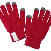 Сенсорные перчатки Scroll, красные