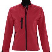 Куртка женская на молнии ROXY 340 красная, размер L