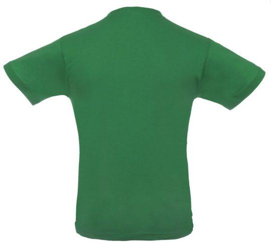 """Футболка темно-зеленая """"T-bolka 140"""", размер XXL"""