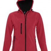 Куртка женская с капюшоном Replay Women красная, размер L