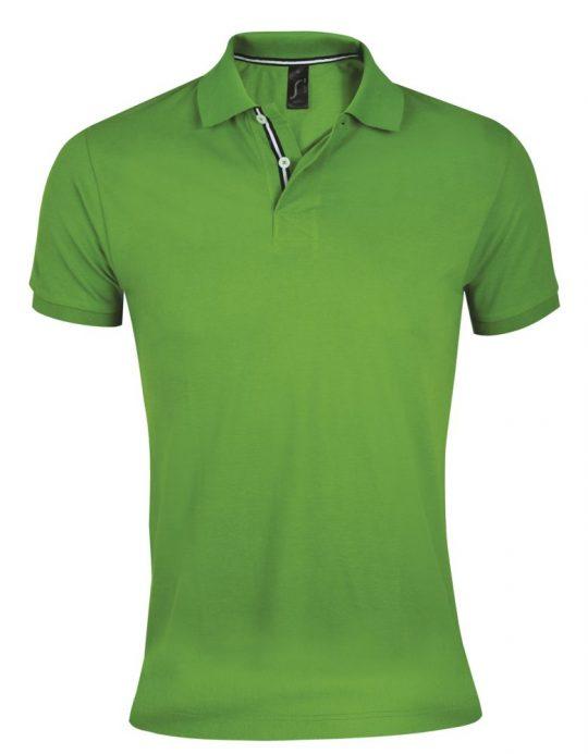 Рубашка поло мужская PATRIOT 200, зеленая, размер L