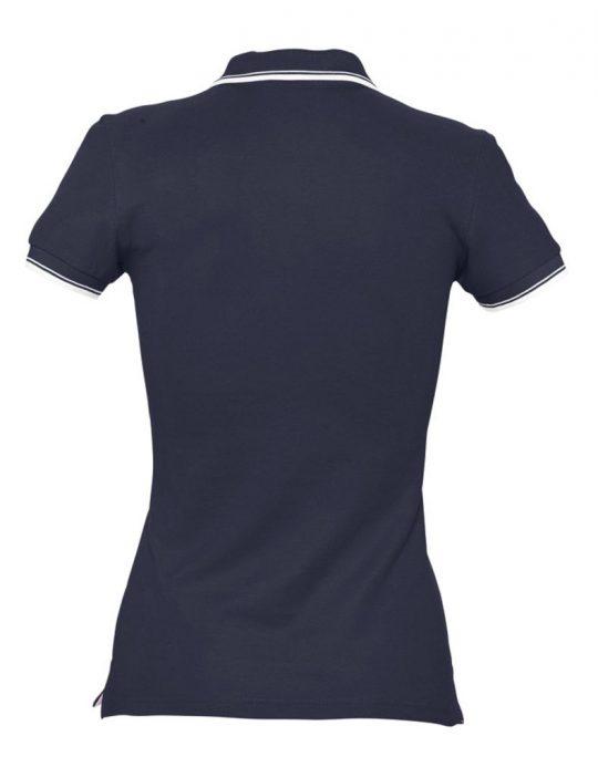 Рубашка поло женская Practice women 270, темно-синий/белый, размер XL