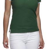 Рубашка поло женская Practice women 270 белая с темно-синим, размер L